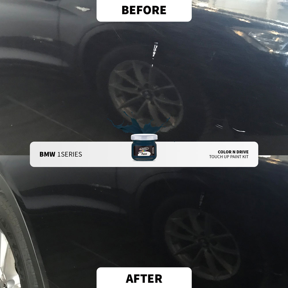 BMW Touch Up Paint - Before - After