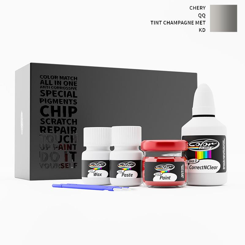 Chery Qq Tint Champagne Met Kd Touch Up Paint Chery Touch Up Paint Color N Drive