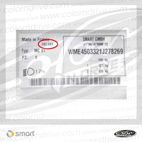 Smart Paint Code Label
