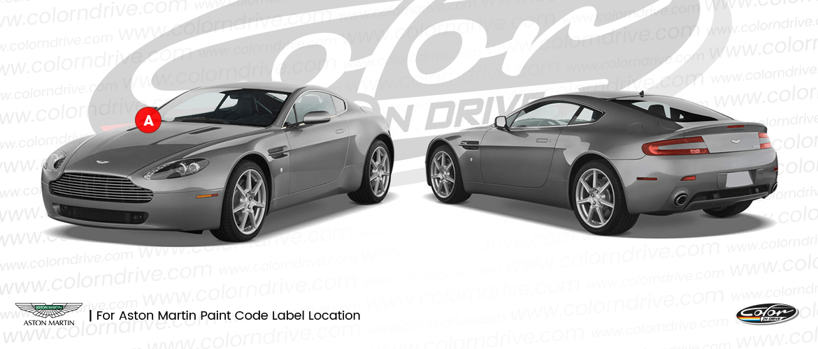 Aston Martin Paint Code Location