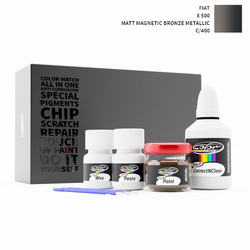 Auto Touch Up Paint >> Fiat 500 X Matt Magnetic Bronze Met 400 C Touch Up Paint Change Color